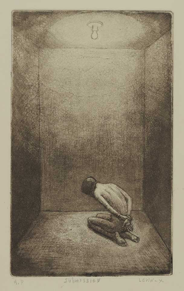 Submission Etching; $150/$225 Fr.